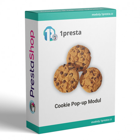 PrestaShop modul - cookie lišta