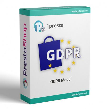 GDPR PrestaShop modul